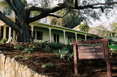 Will Rogers Ranch House (photo courtesy of the California State Parks)