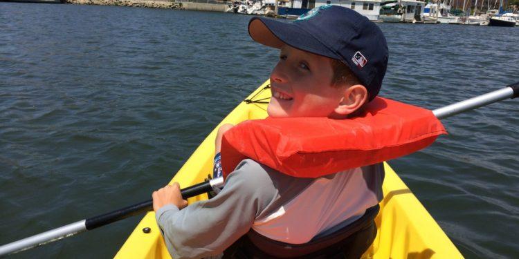 Boy-on-kayak-marina-del-rey