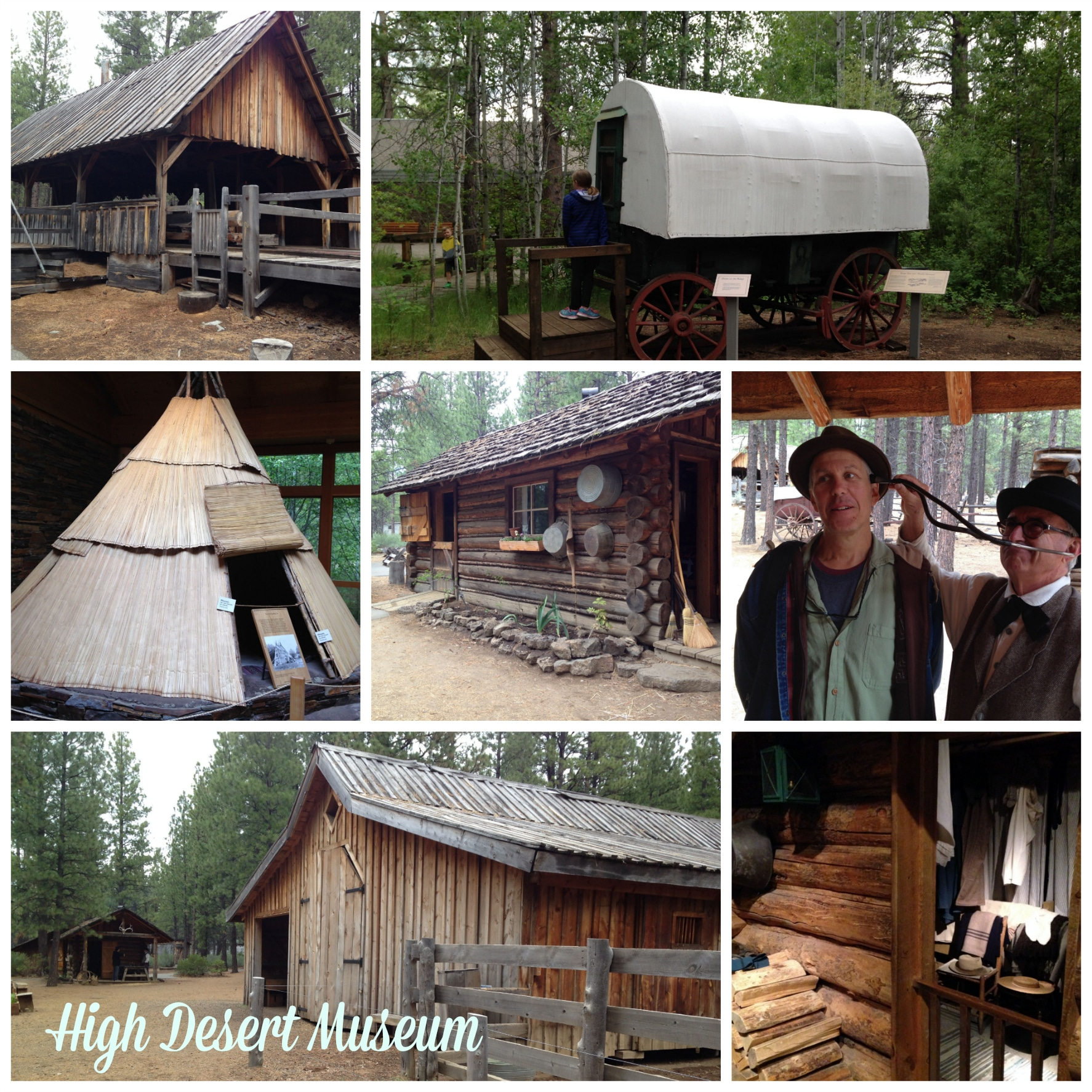 High Desert Museum collage - Bend, Oregon