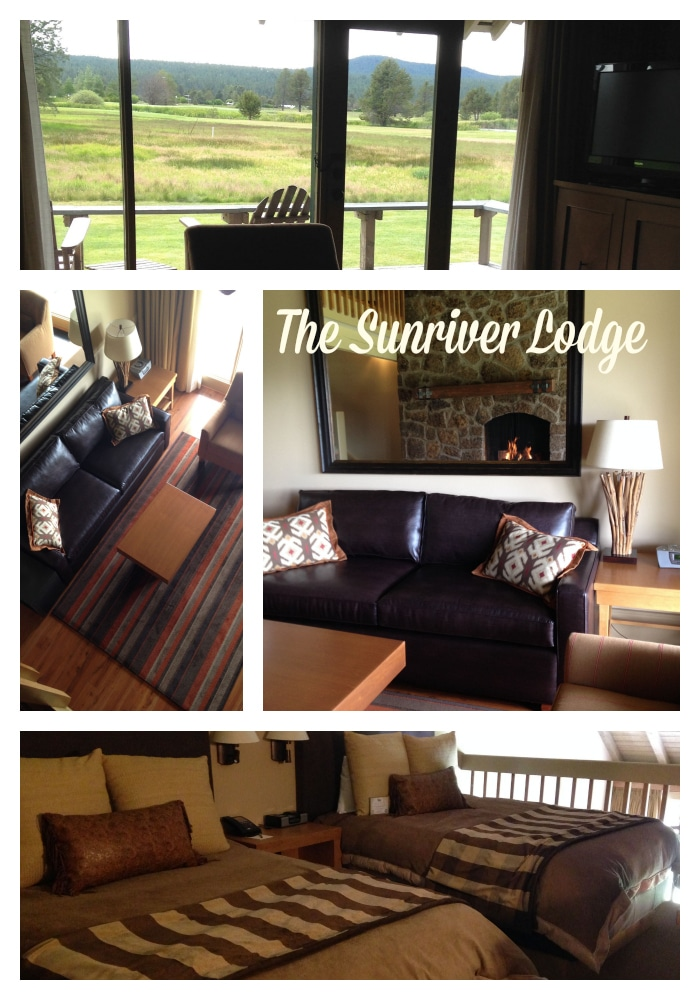 Interior of the Suite at Sunriver Lodge