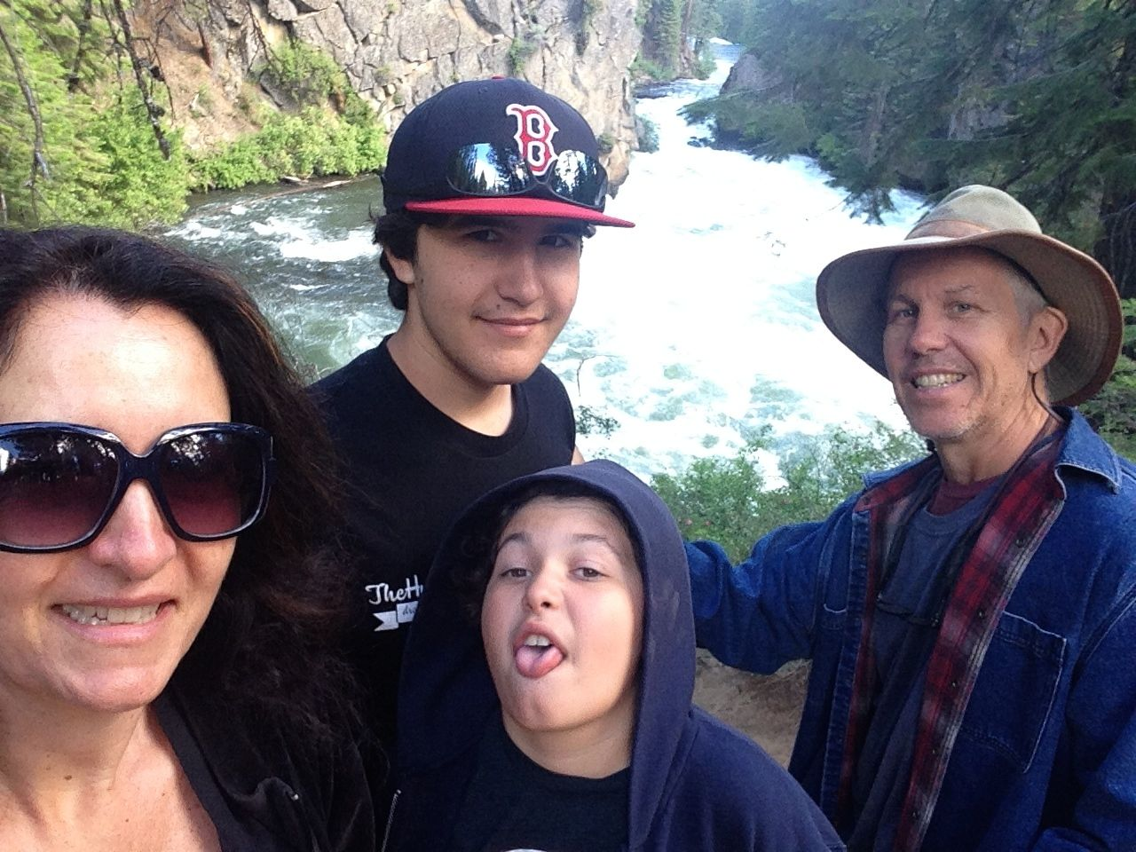 "Me and my ""outdoorsy"" family in Central Oregon"