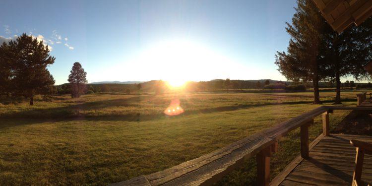 Sunset in Sunriver, Oregon