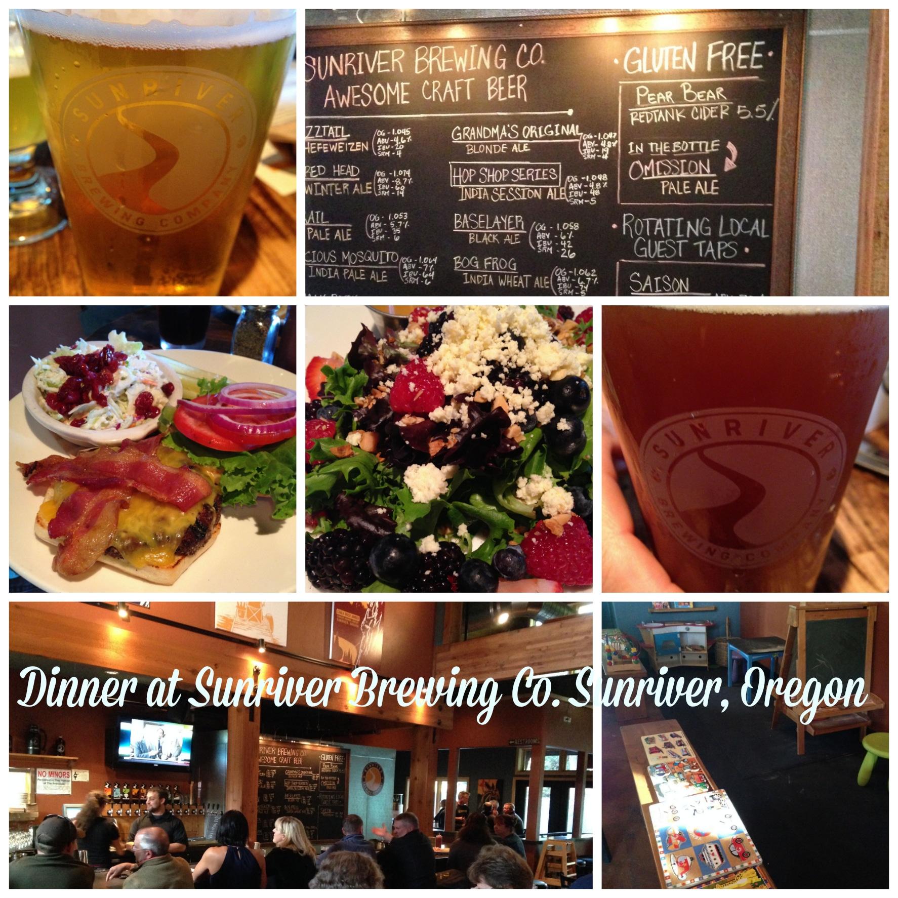 Sunriver Brewing co in Sunriver Oregon