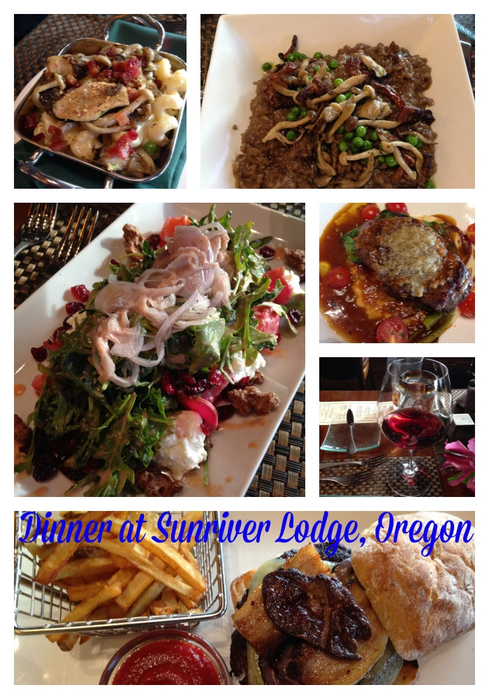 Sunriver Lodge dinner, sunriver, Oregon