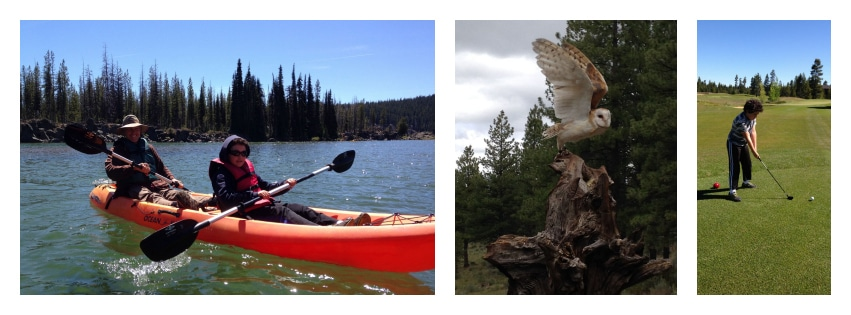 family activities in Bend and Sunriver, Oregon