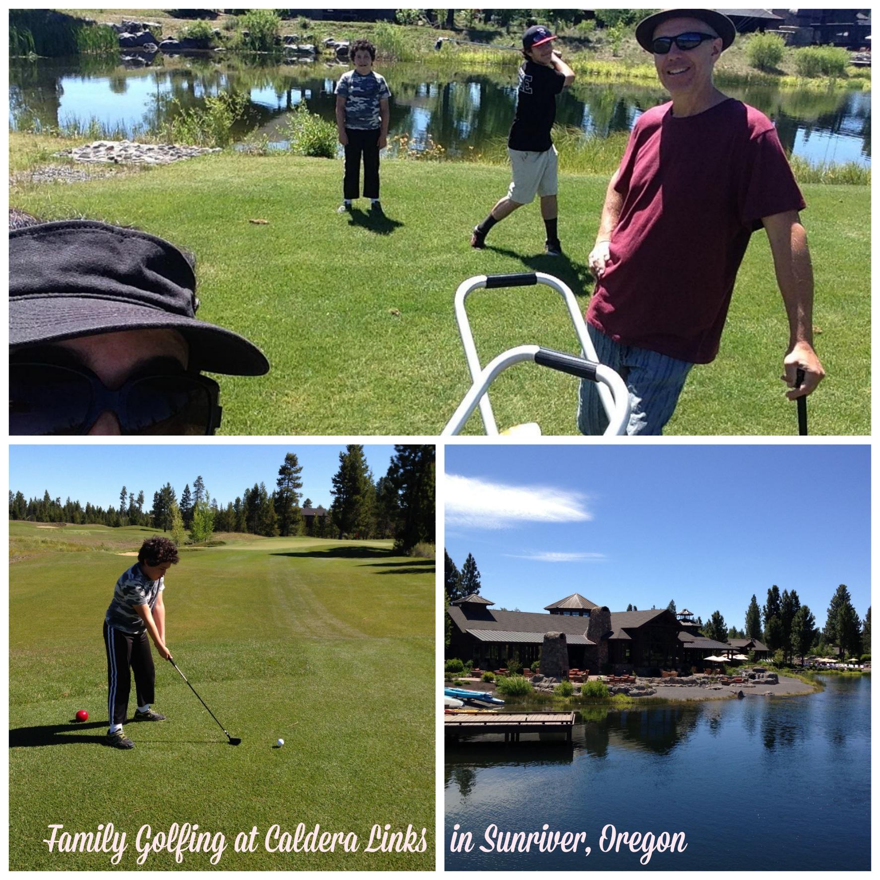 golfing sunriver, oregon