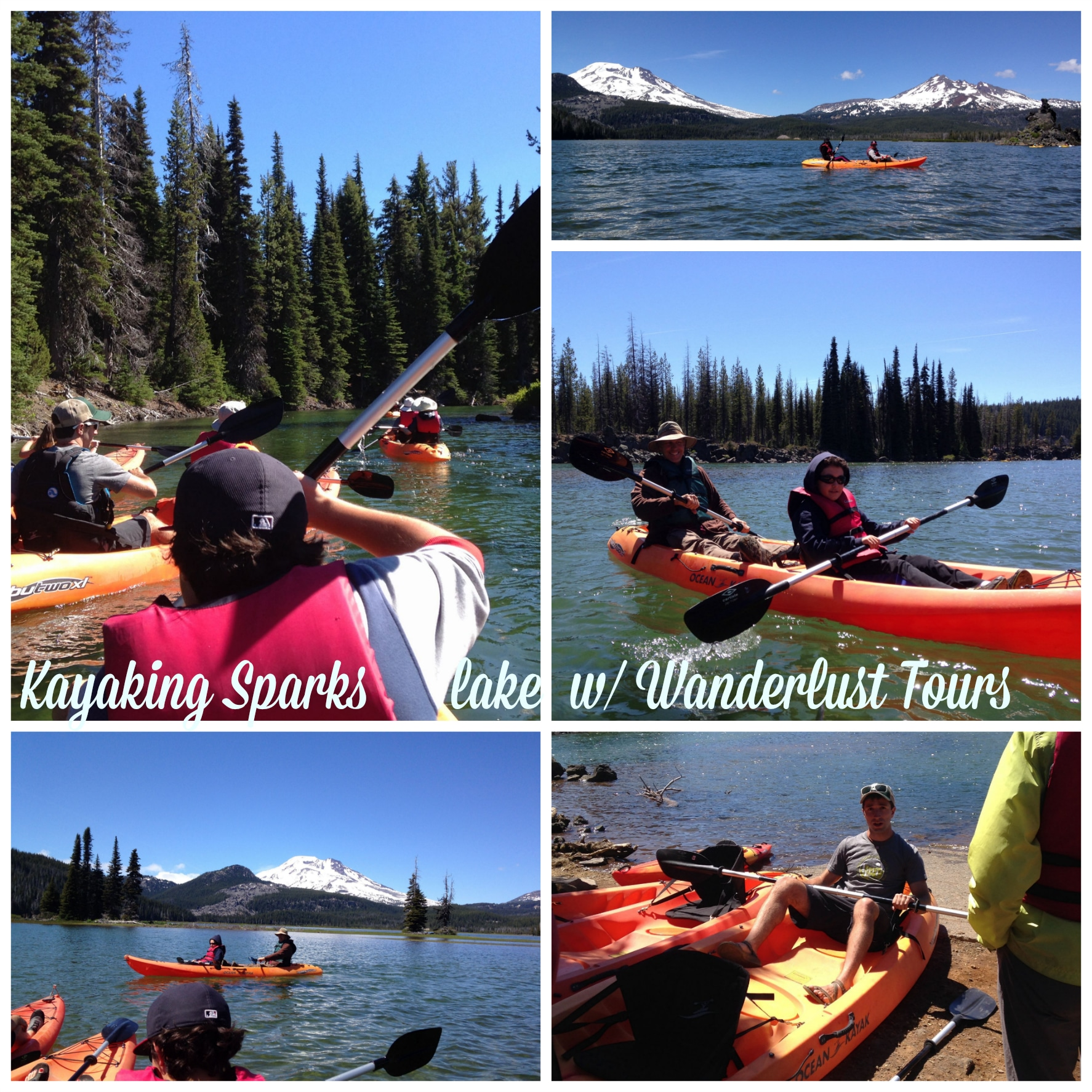 kayaking with Wanderlust Tours in Bend, Oregon