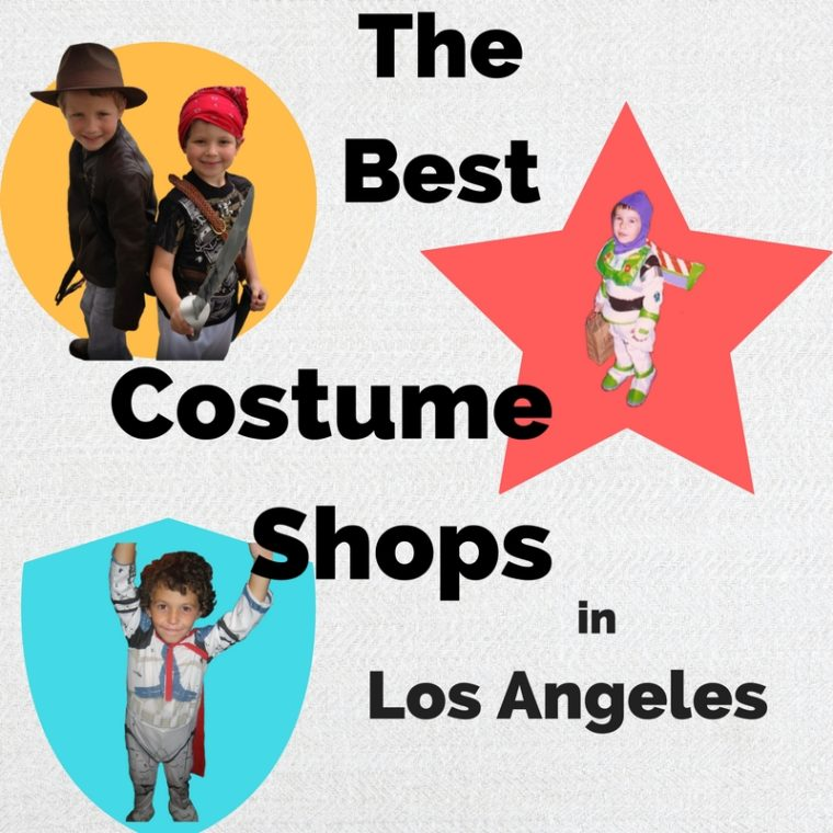 Best costume shops in Los Angeles kids in costume