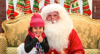 Irvine Park Railroad is one of the many fun places in the Los Angeles area to visit Santa