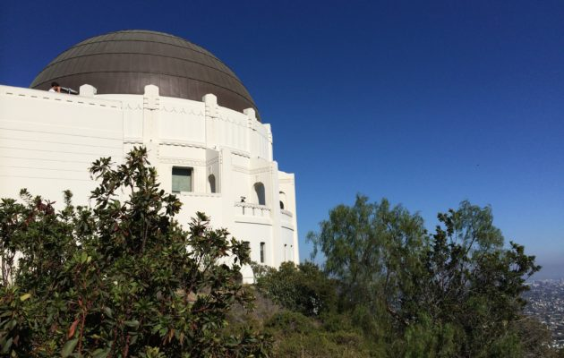 Griffith Observatory: Photo by Yvonne Condes