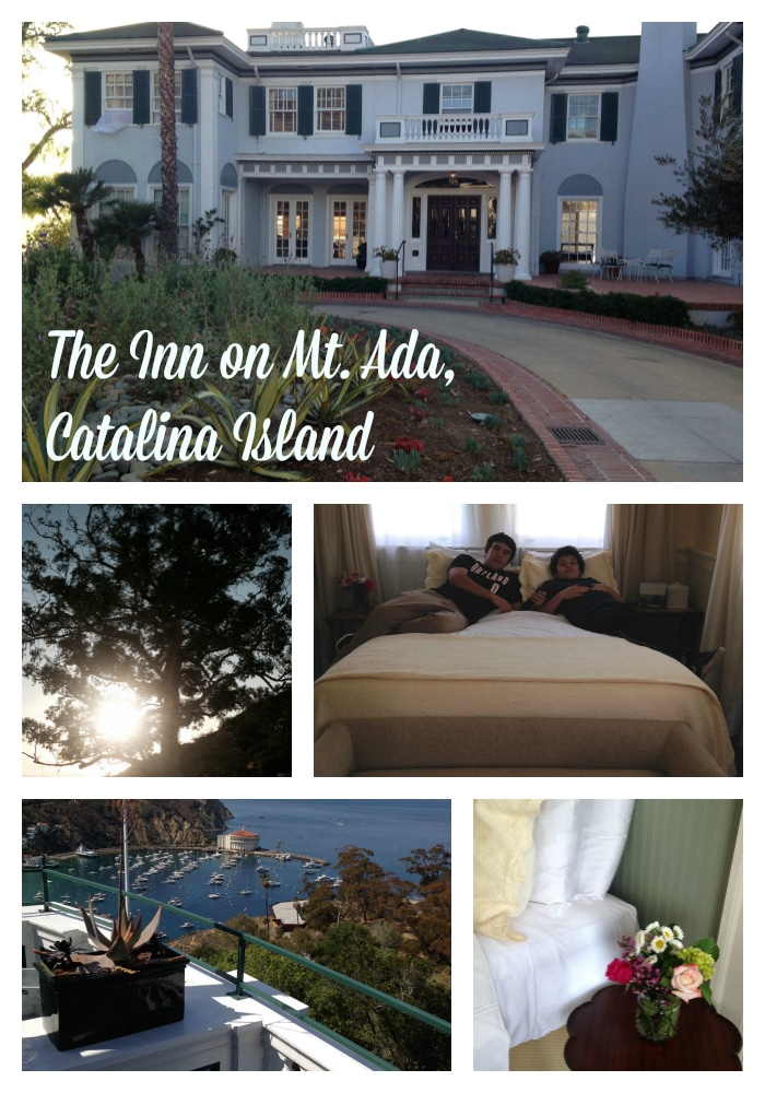 Inn on Mt. Ada Collage Catalina Island