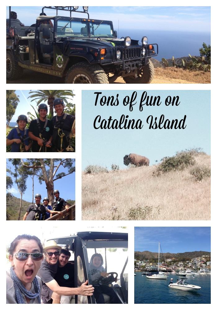 tons of fun on Catalina Island