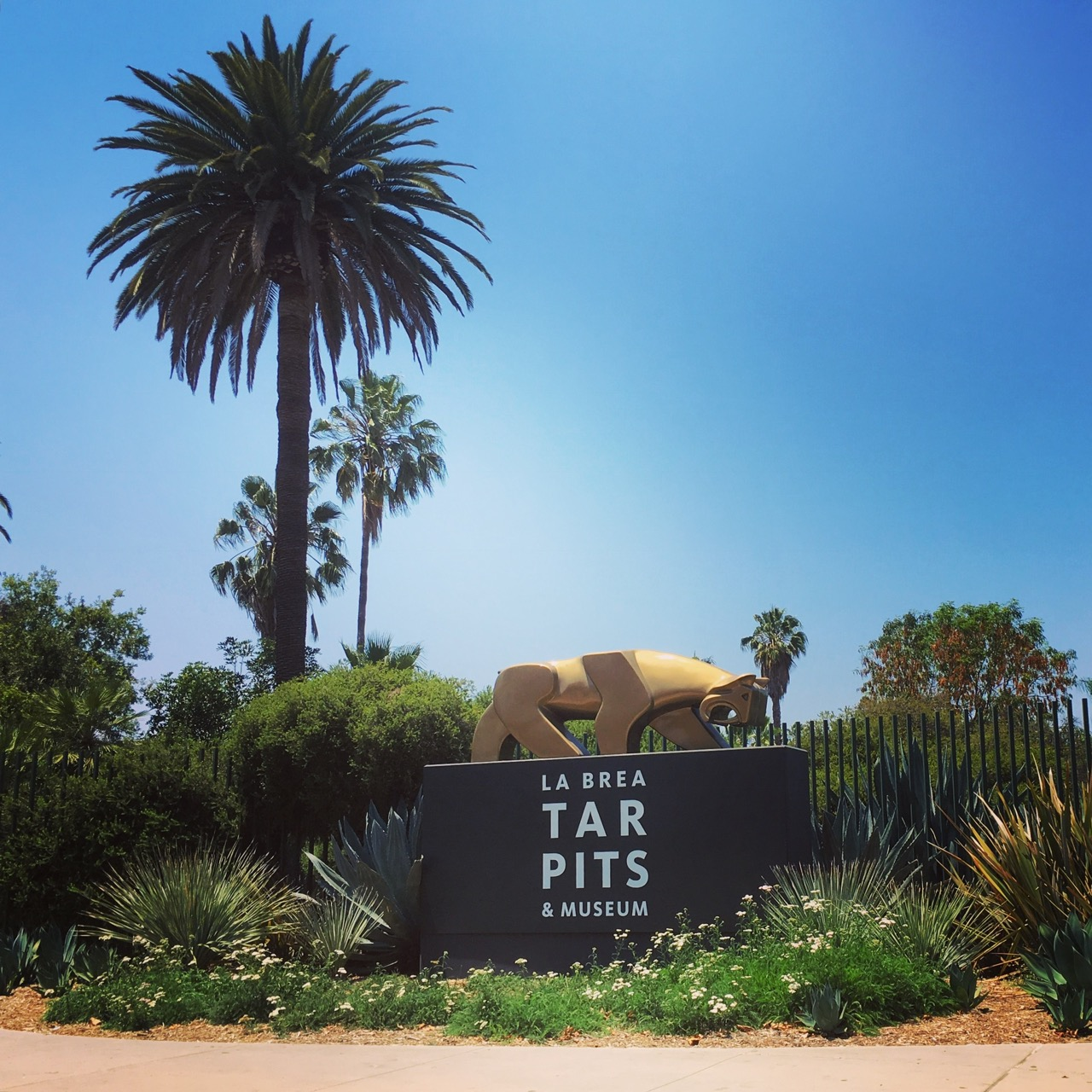 The La Brea Tar Pits is one of the fun and educational museums to take kids in Los Angeles