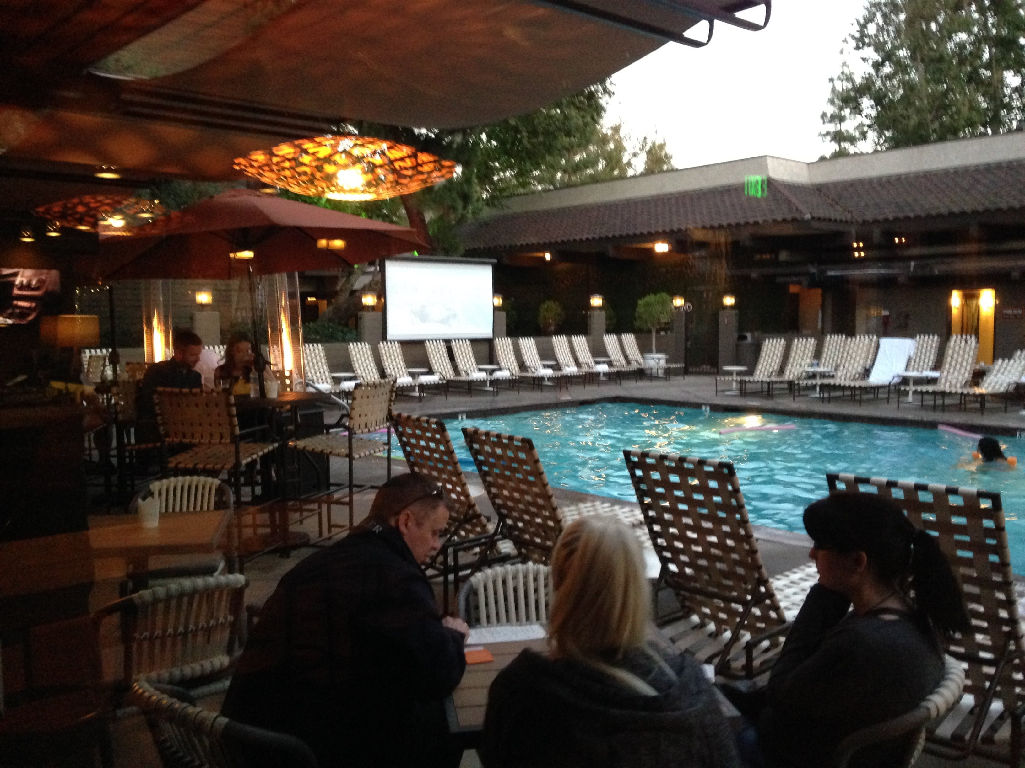 poolside at Garland Hotel North Hollywood