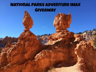 National Parks Adventure IMAX giveaway for the California Science Center