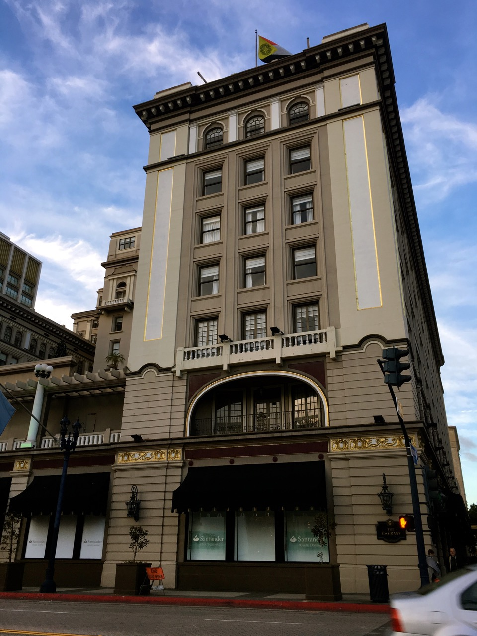 US Grant Hotel in San Diego's Gaslamp District