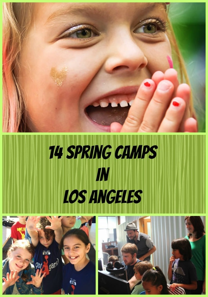 14 Spring Camps in Los Angeles
