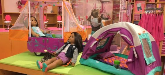 The American Girl Store at The Grove is one of the fun places to have a child's birthday party in LA.