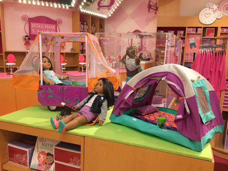 "American Girl Place at The Grove is one of the ""only in LA"" spots to have a child's birthday party in Los Angeles."