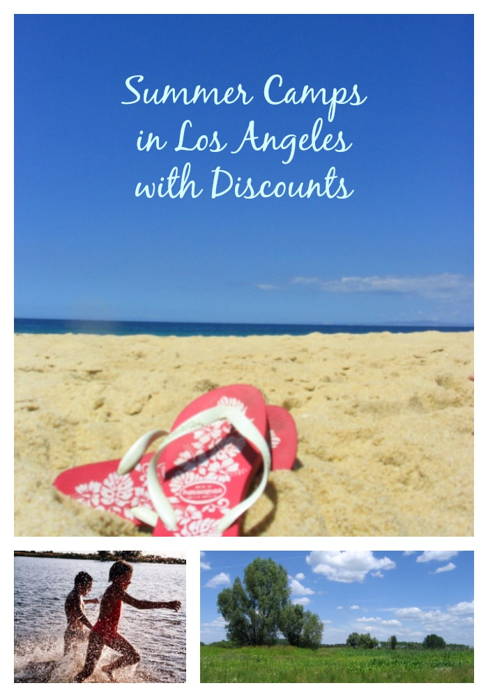 Summer camps in Los Angeles with discounts