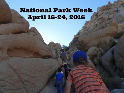 It's National Park Week April 16-24, which means all 400 parks are offering free admission.
