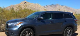 Road Trip to the Desert in 2016 Toyota Highlander