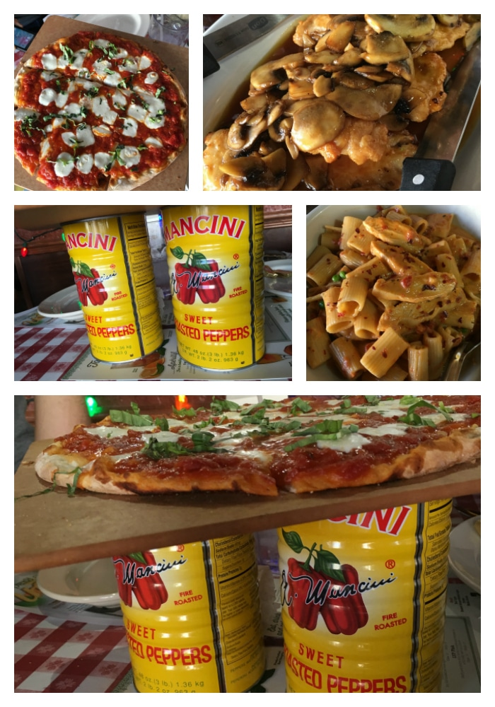 buca di beppo entrees and pizza