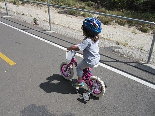 LA River los angeles bike photo