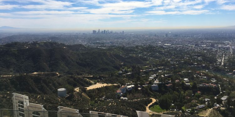 Hiking to the Hollywood sign is just one of the fun things for Active Families to do in Los Angeles