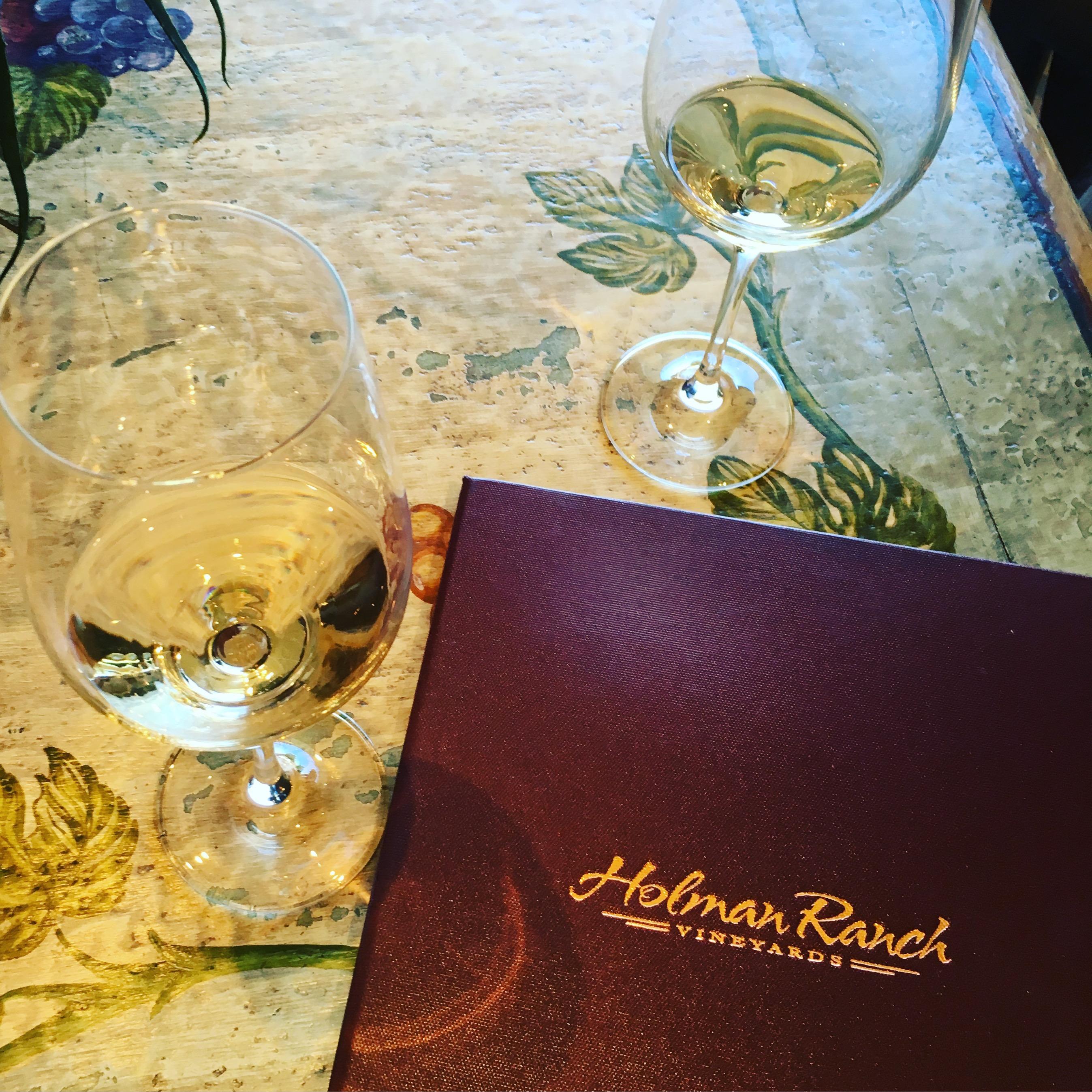 Holman Ranch Tasting Room in Camel Valley