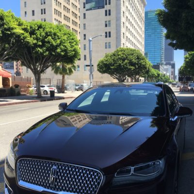 Lincoln MKZ in Downtown Los Angeles