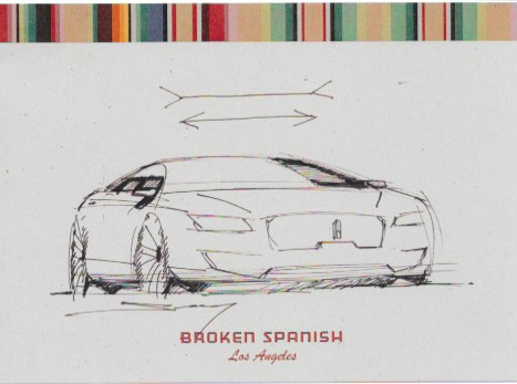 Lincoln MKZ sketch by Solomon Song