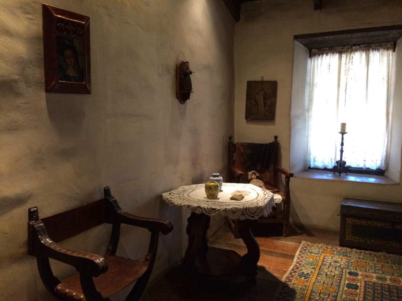 Avila Adobe on Olvera Street is the oldest house in Los Angeles and one of the ways to learn about Latino Culture in Los Angeles