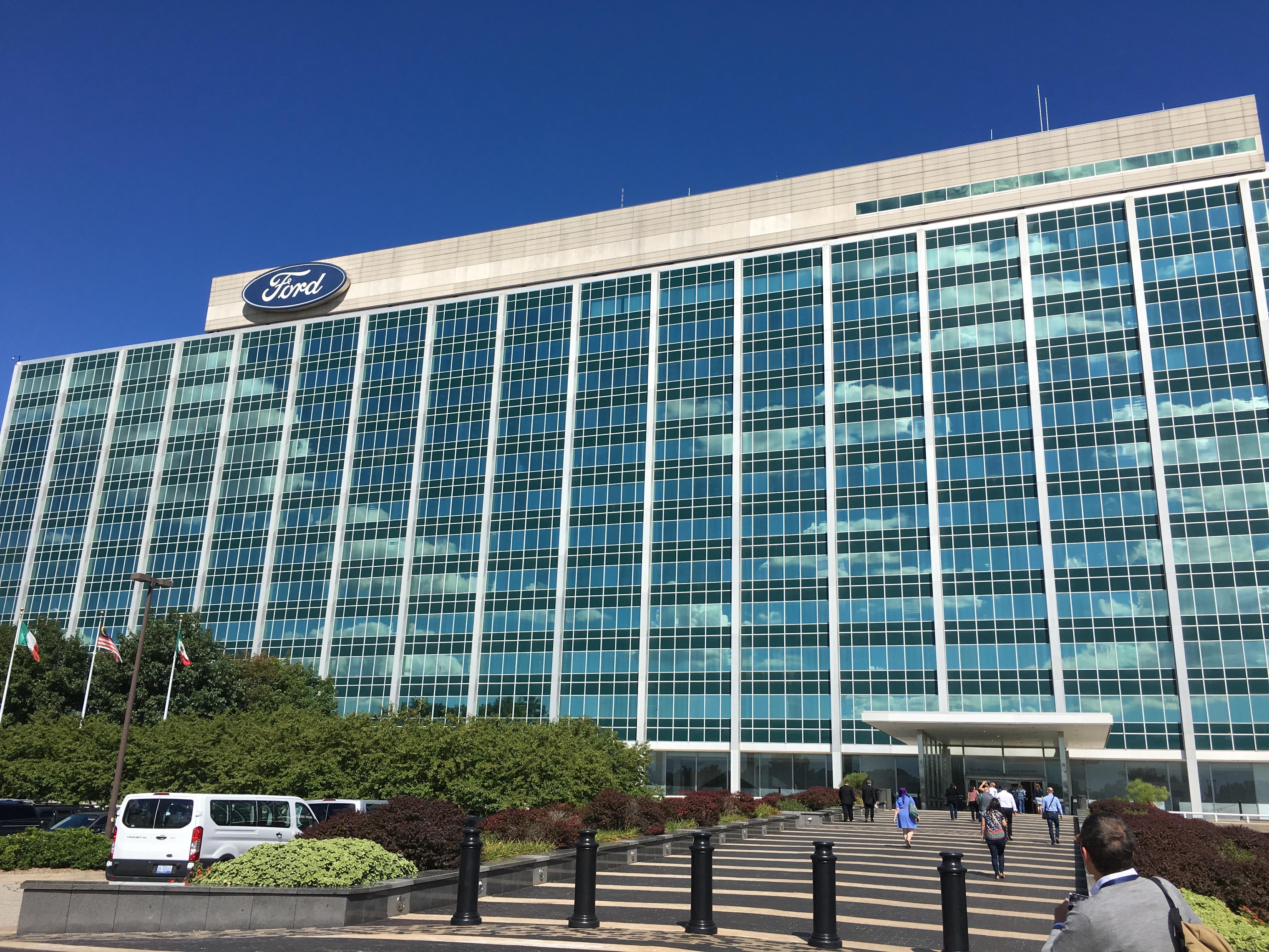 Ford headquarters in Dearborn, Michigan