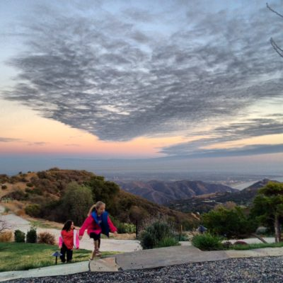 Checking out the view is just one of the many fun things to do in Topanga with kids.