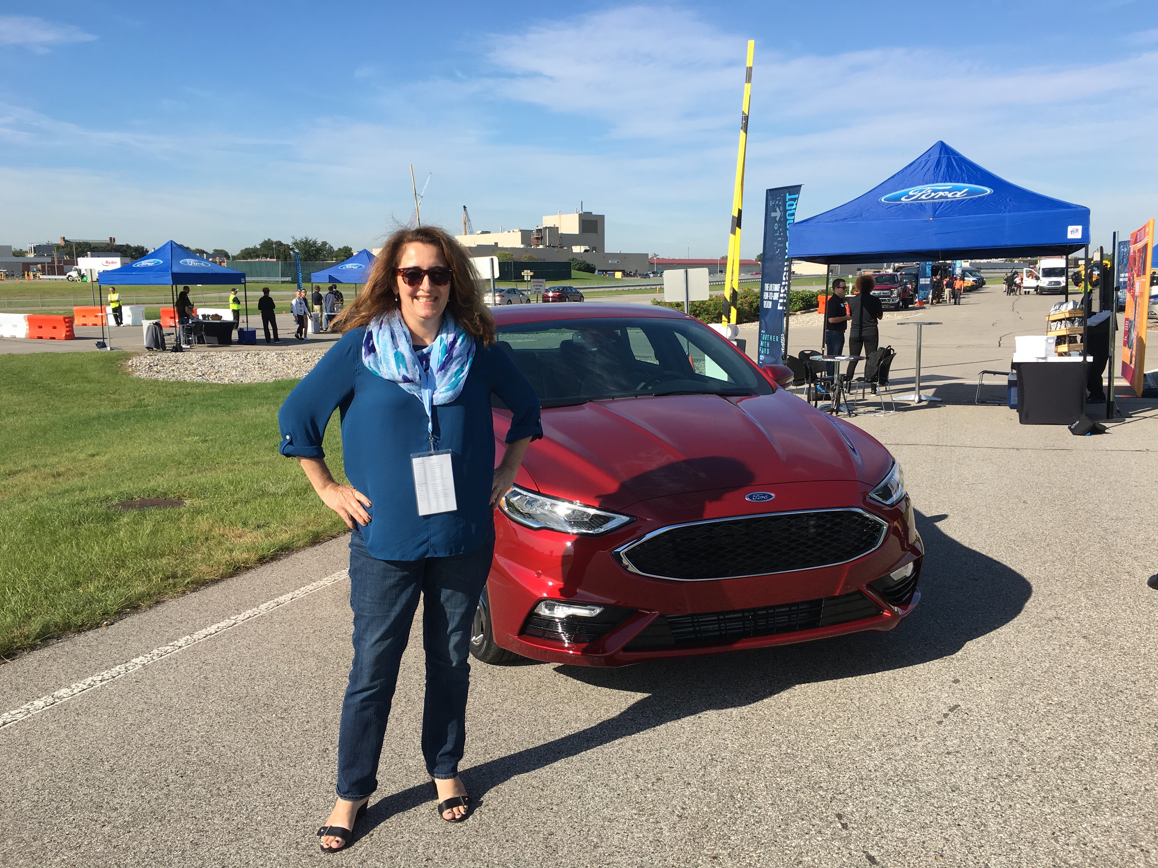 sarah-at-the-ford-test-track-in-dearborn-michigan