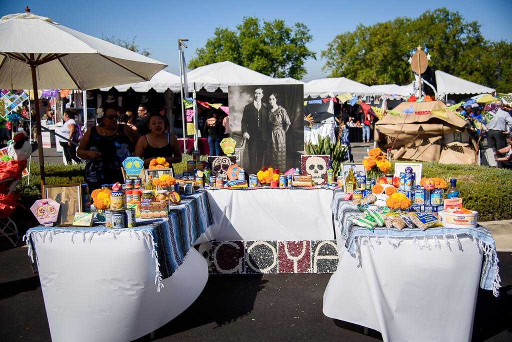 Dia de los Muertos at Rose Hills Cemetery in 2015
