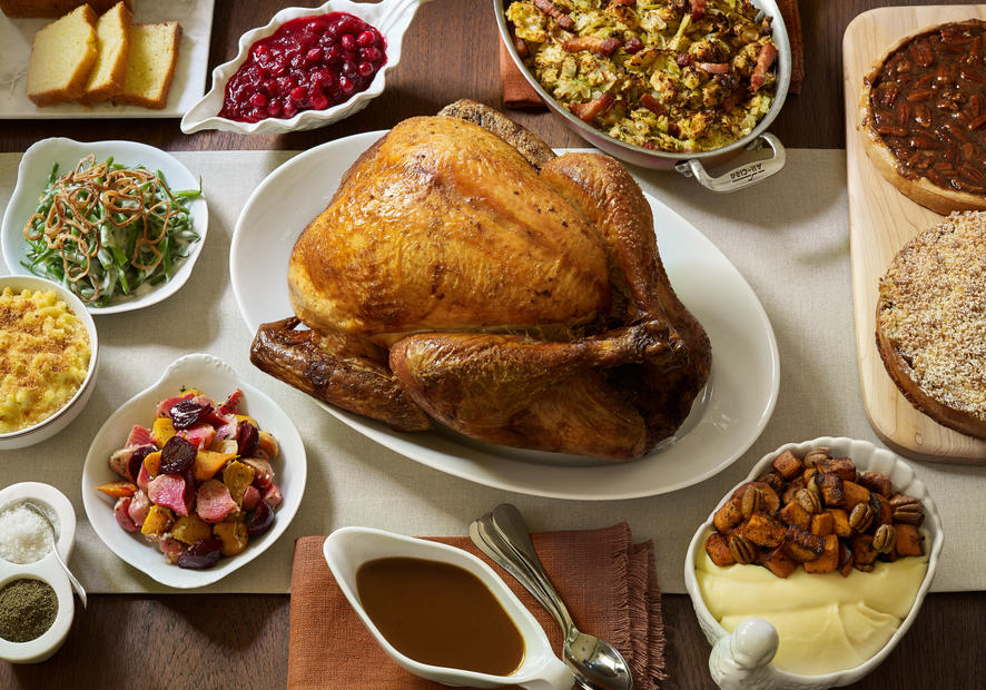 Bouchon Bistro in Beverly HIlls is one of the great places in Los Angeles to go for Thanksgiving dinner