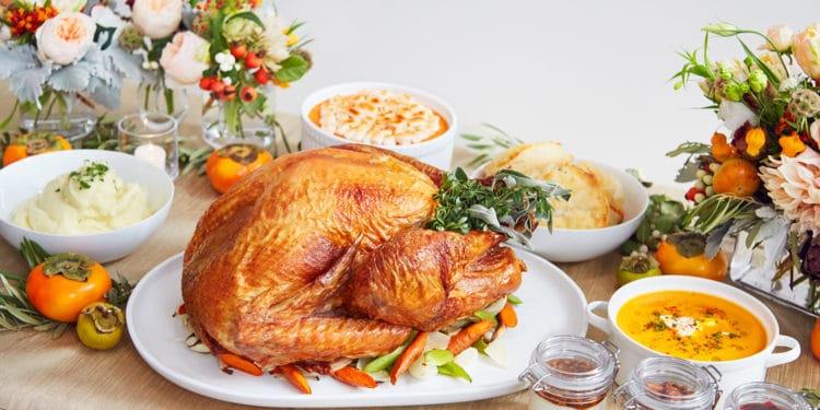 Thanksgiving To Go at Botega Louie