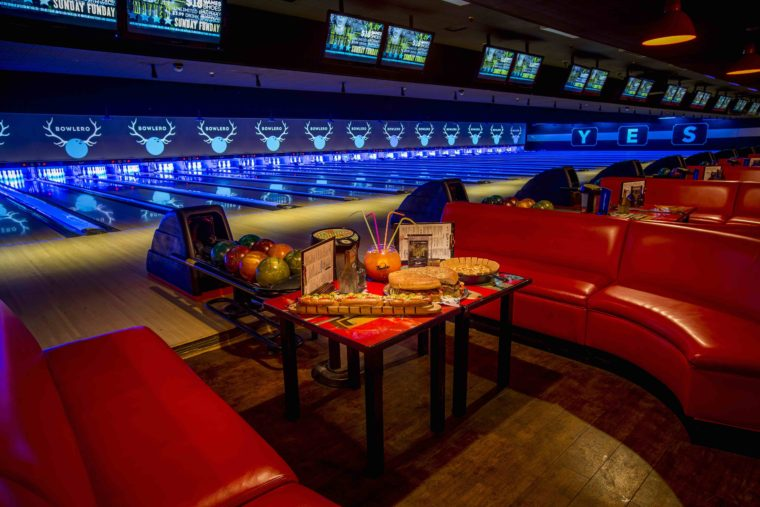 Going bowling at Bowlero is one of the fun things to do with kids in Woodland Hills