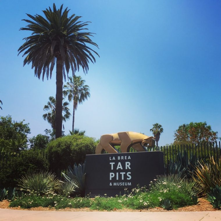 The La Brea Tar Pits is one of the educational (and fun!) places to take kids in Los Angeles