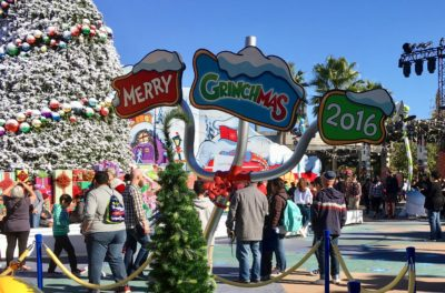 Merry Grinchmas 2016 at Universal Studios