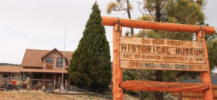 Big Bear Historical Park is one of the fun things to do with kids in Big Bear Lake, California