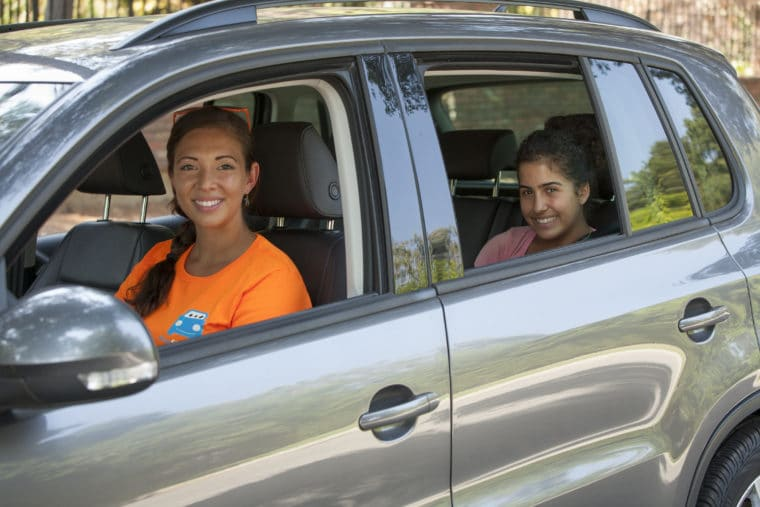 HopSkipDrive is giving away $100 in free rides. Or use code MomsLA to get the first ride free (up to $20).