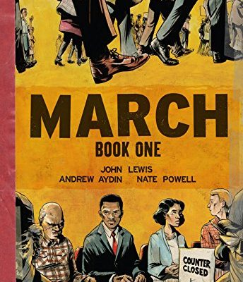 March by John Lewis is one of the books for kids to read when learning social justice