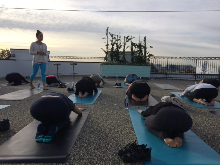 Exercise classes are a great way to meet other new moms in Los Angeles.