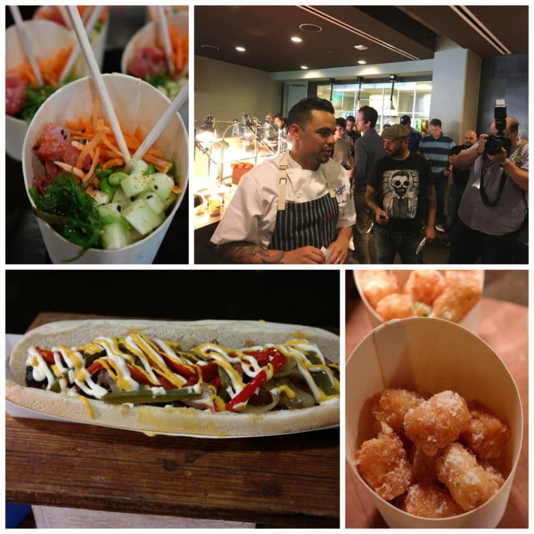 Dodger Food collage