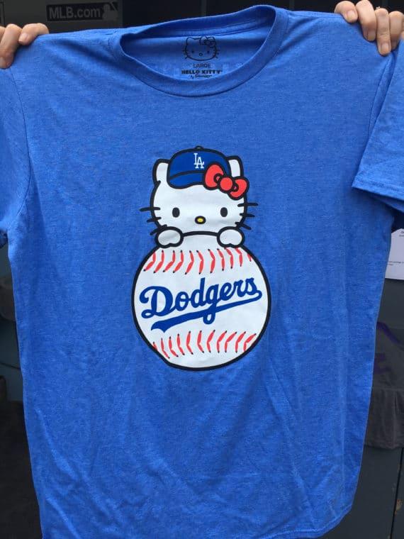 Hello Kitty Dodger shirt