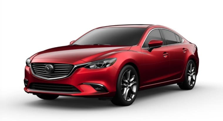 Mazda 6 from their website