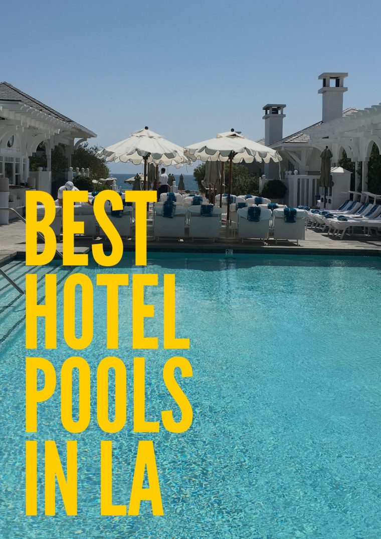 Looking for a staycation? or just an afternoon away? Head t one these luxurious hotel pools. #summer #summerfun #summerinlosangeles #familytravel #LosAngeles #southerncalifornia #hotelpools